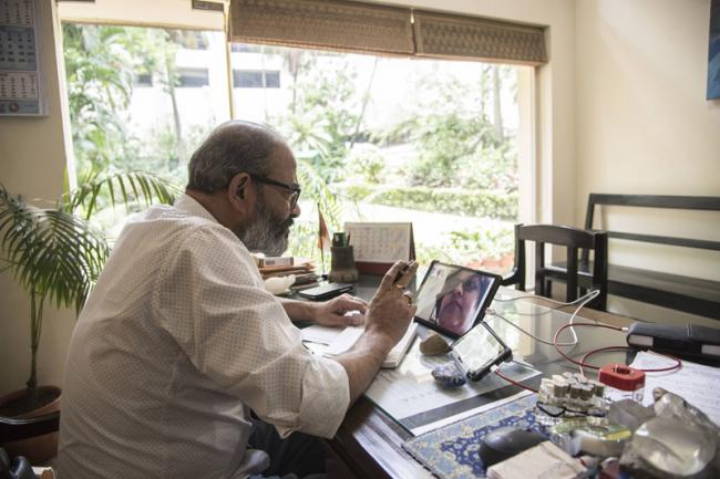 'The only solution to Covid-19 is herd immunity': Kolkata-based homeopath Dr. Pratip Banerji