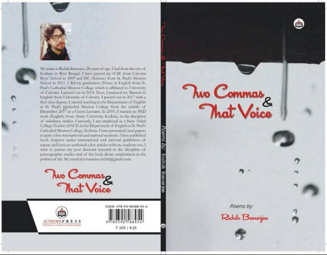 Book Review: Richik Banerjee talks about the sandwiched voiced in his anthology of poems