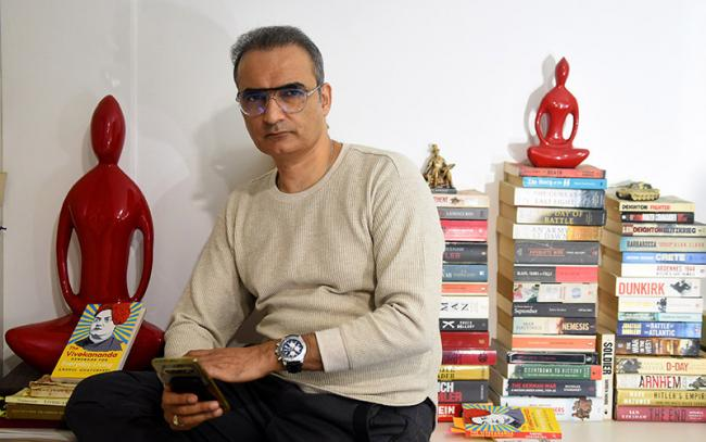 My book on Vivekananda a summary of how he helped me to deal with questions: Journalist-author Anshul Chaturvedi