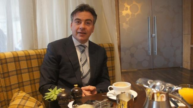 Indian market growth is 100 percent, says Edinburgh Sheraton GM