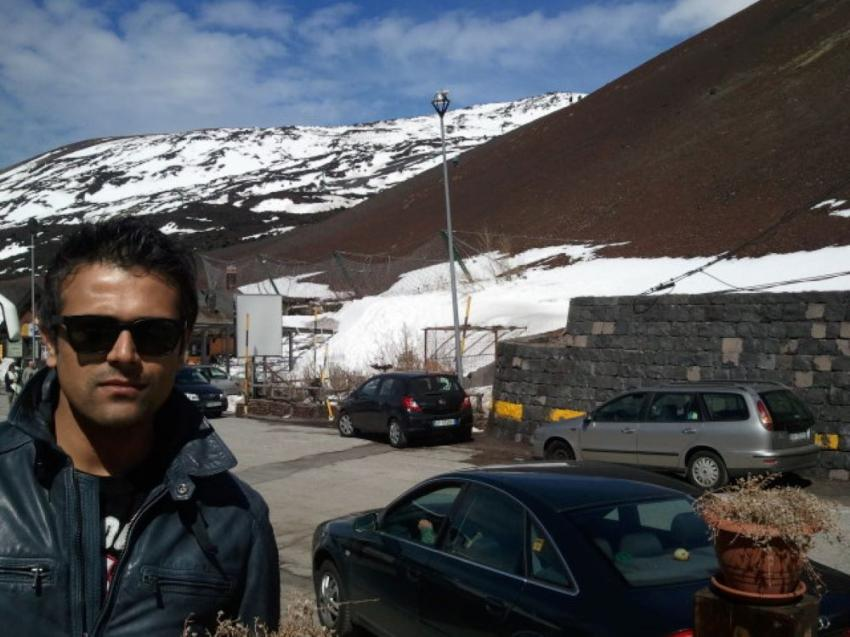 I am a big fan of volcanoes: Actor Abhishek Singh