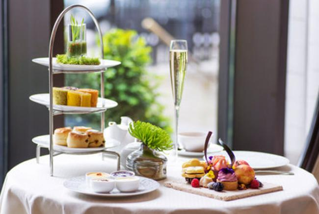 InterContinental London Park Lane launched Scents of Summer A New Afternoon Tea