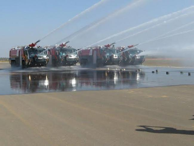 Bangalore Airport commemorates Fire Prevention Week and Fire Service Day