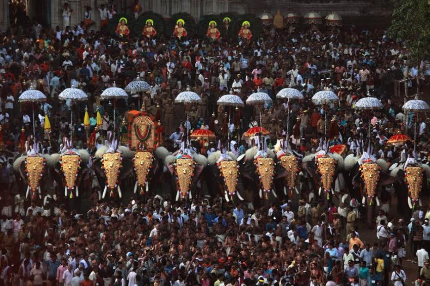 Thrissur in Kerala gets ready for its Pooram, strict regulations on fireworks being enforced