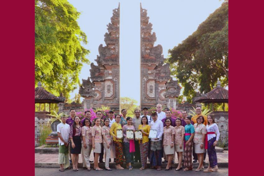 Nusa Dua Beach Hotel & Spa of Indonesia win multiple tourism awards