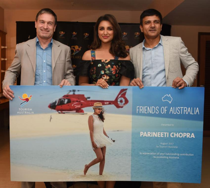 Tourism Australia appoints Parineeti Chopra as brand ambassador