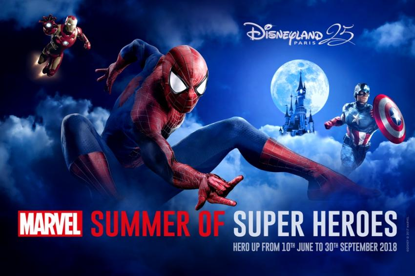 Marvel Superheroes come to Disneyland Paris in 2018 summer