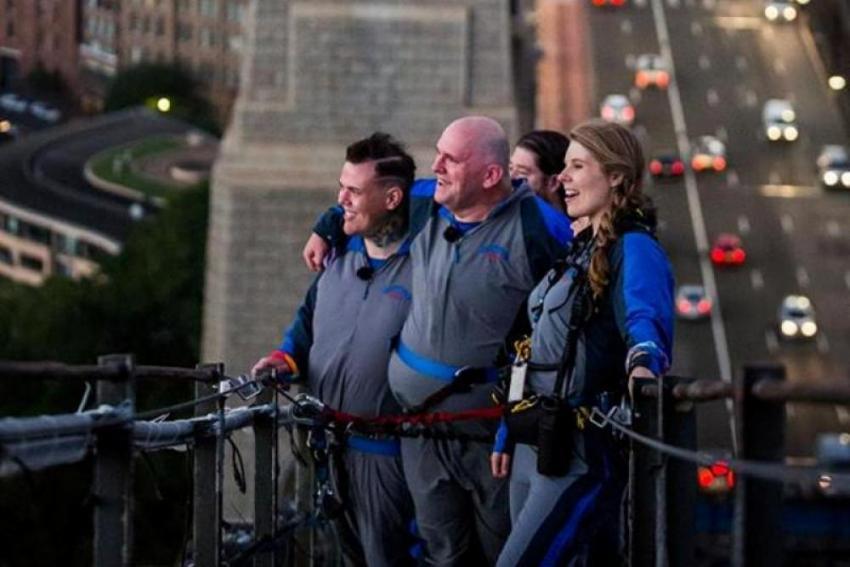 Sydney Harbour Bridge hosts first same-sex marriage in Australia