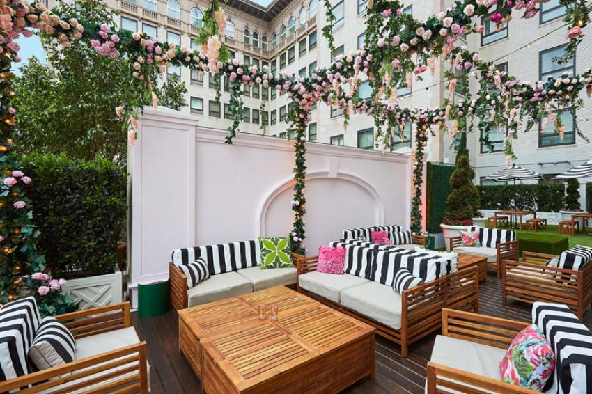 California's Beverly Wilshire hotel launches Secret Rose Garden