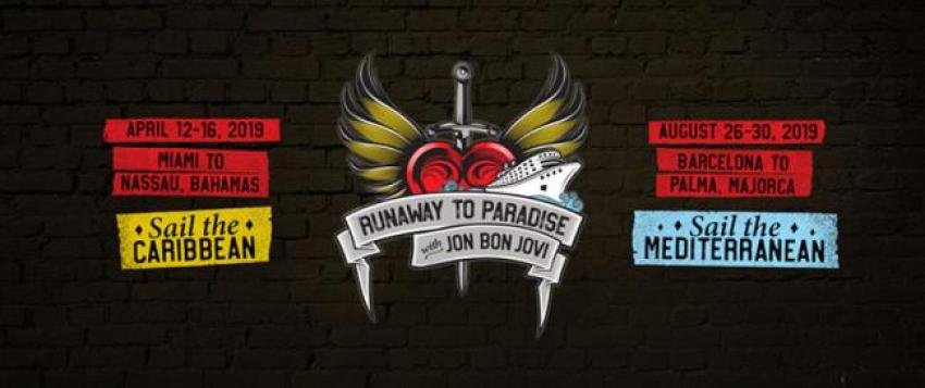 Norwegian Cruise Line to host Jon Bon Jovi's 'Runaway to Paradise Cruises' in Spring and Summer 2019