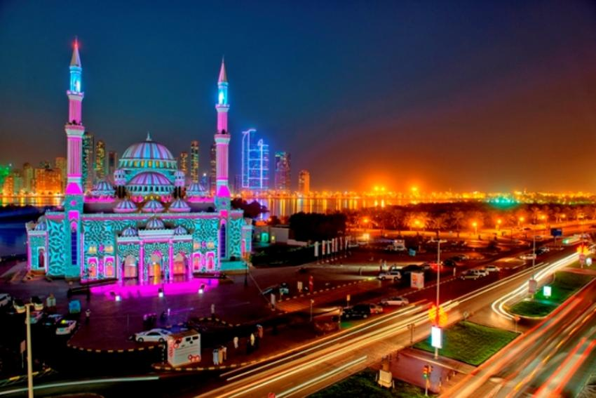 The Sharjah Light Festival woos tourists for 2019