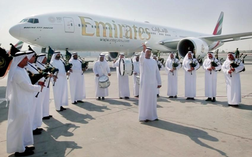 Emirates starts Dubai-Edinburgh flight