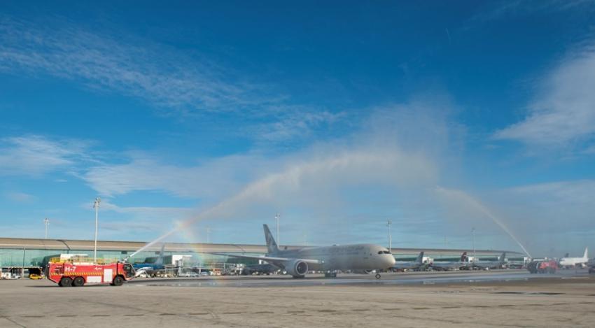 Etihad Airways launches inaugural flight to Barcelona