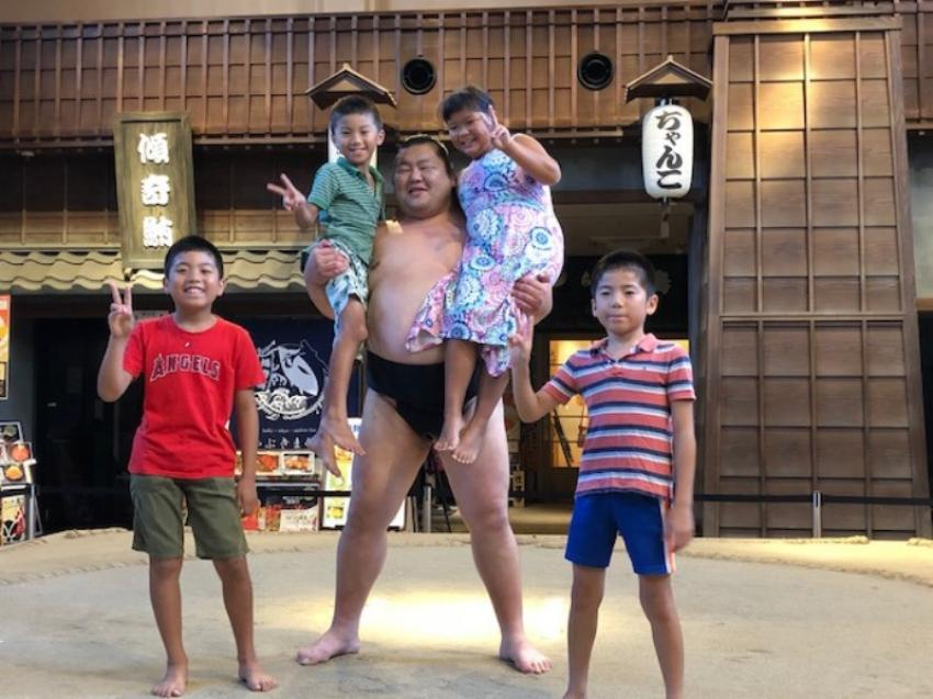Experience Japan's greatest gift to the world -- Wrestle like a Sumo!