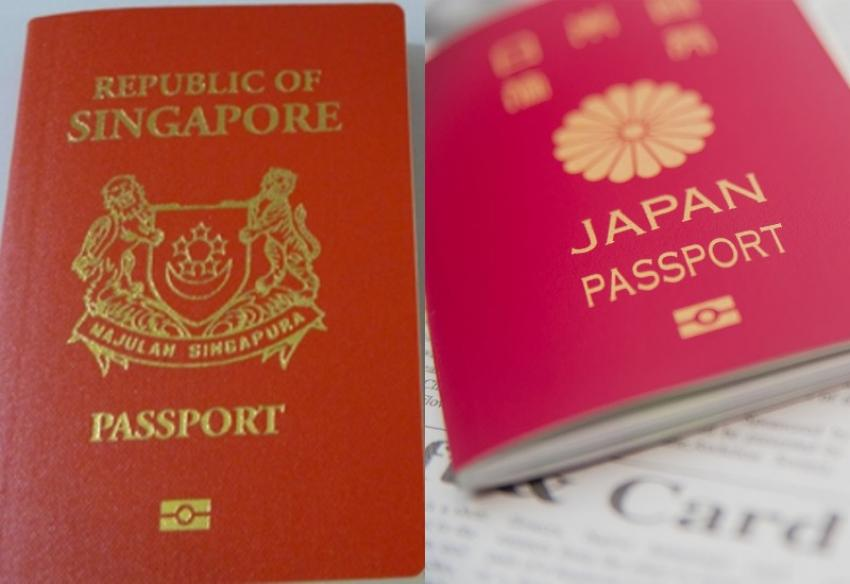 Japanese, Singaporean passports named the world's most powerful