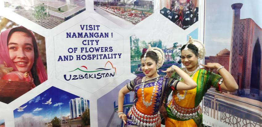 Uzbekistan showcases Namangan at travel fair in Mumbai