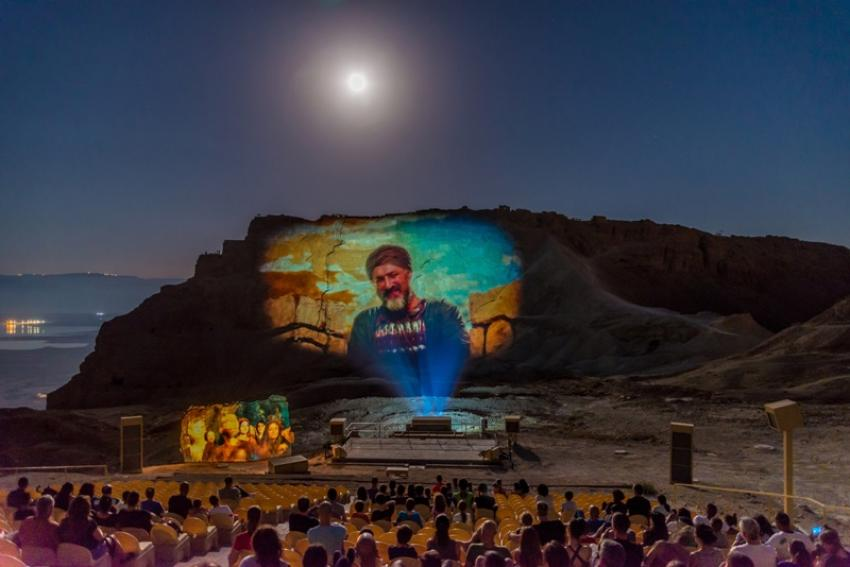Israel offers new night show 'From Dusk to Dawn' at Masada