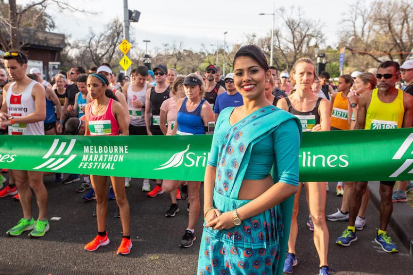 SriLankan Airlines concludes a memorable Melbourne Marathon
