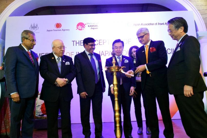 Reception of  India-Japan Tourism Council meeting celebrates success