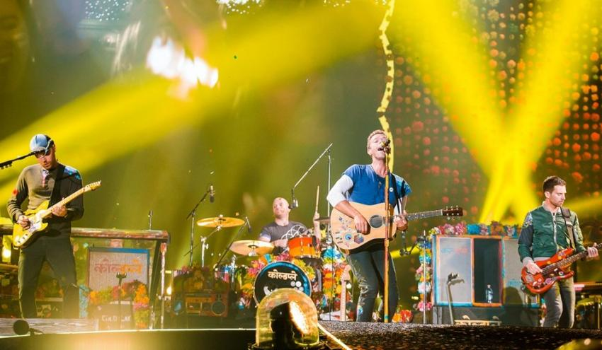 Coldplay chooses Jordan to release their first album in four years 'Everyday Life'