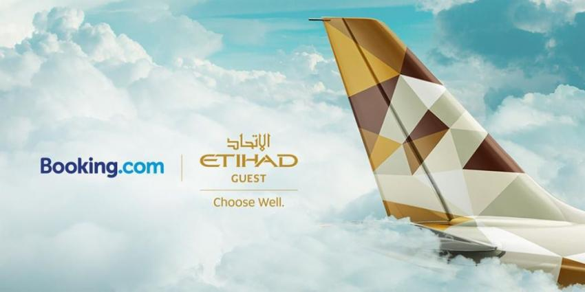 Etihad Guest forms rewards partnership with Booking.com