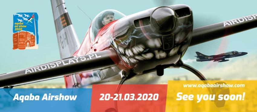 It's Show Time - Aqaba Airshow 2020!