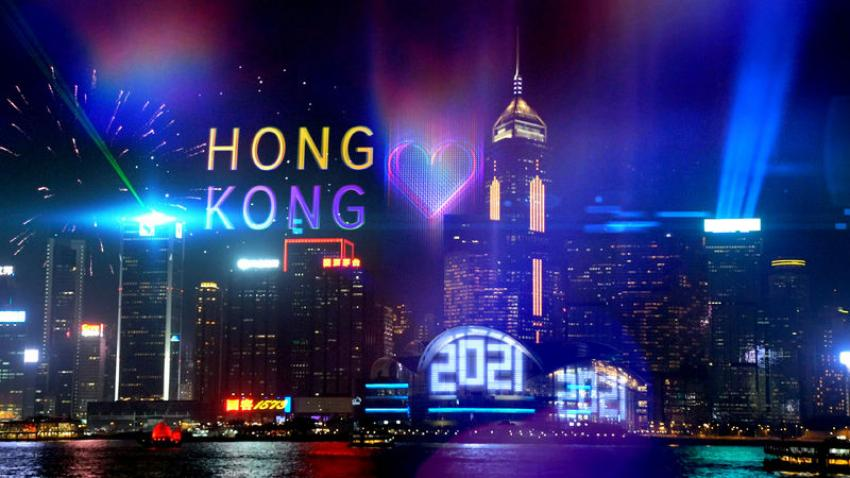Hong Kong New Year Countdown celebration goes online