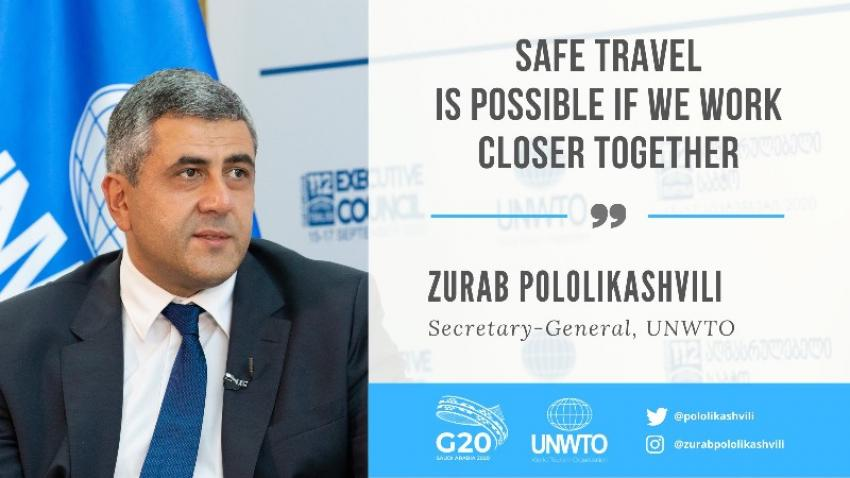 Heads of UNWTO and OECD press for coordinated action to restart tourism and save livelihoods