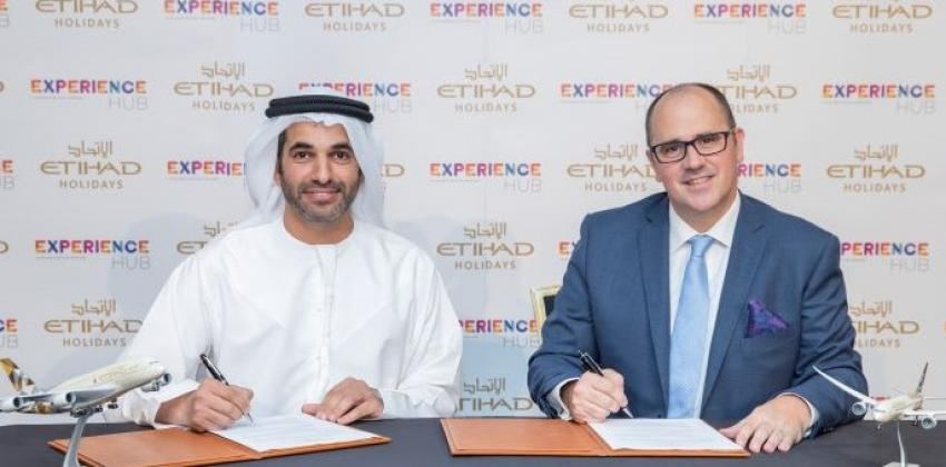 Experience Hub and Etihad Holidays sign MoU to elevate Abu Dhabi's position as a leading leisure & culture destination