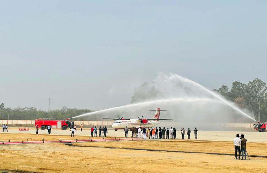 Hardeep Singh Puri virtually flags off first flight to newly upgraded Bareilly Airport to Delhi