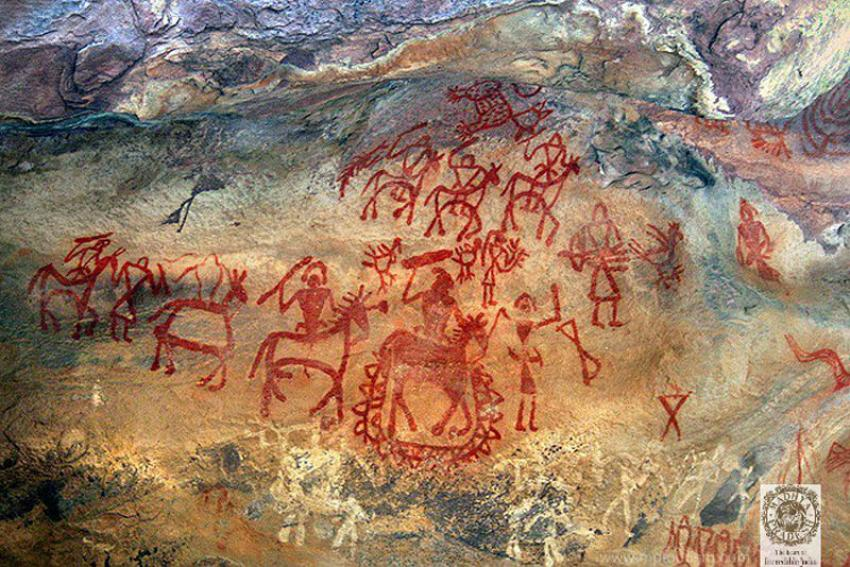 Go on a virtual tour of UNESCO World Heritage Site of Bhimbetka in Madhya Pradesh