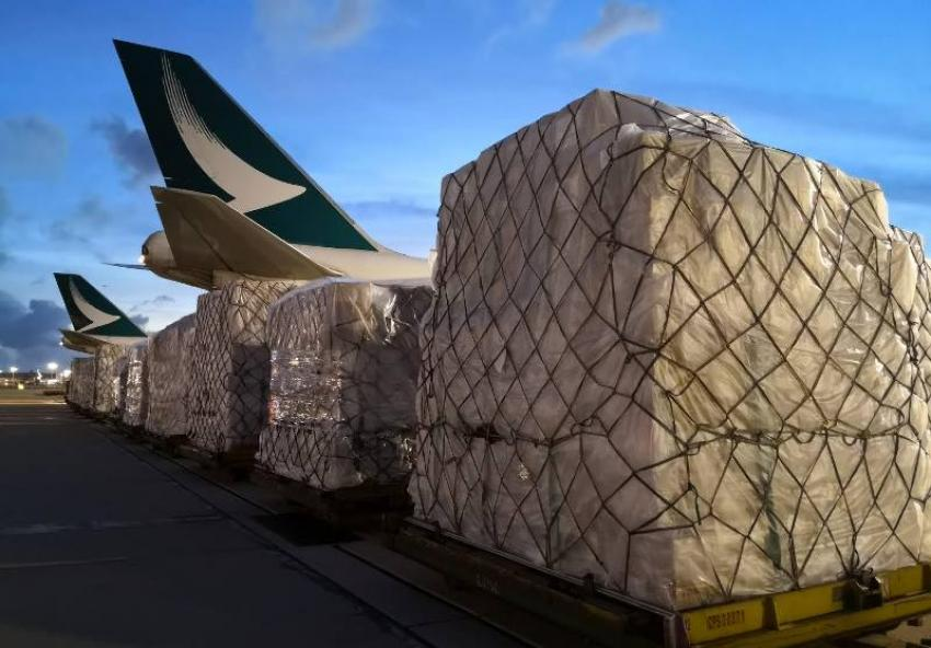 Cathay Pacific undertakes delivery of emergency medical supplies to India