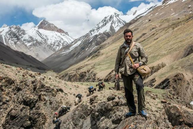 Explorer Levison Wood walks the length of the Hima ...