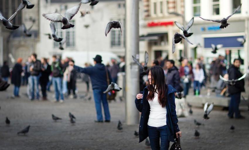Amsterdam squares