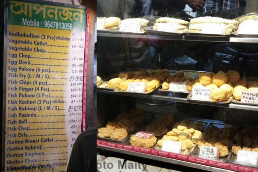 Apanjan in Kolkata: Fish, chips and cutlets