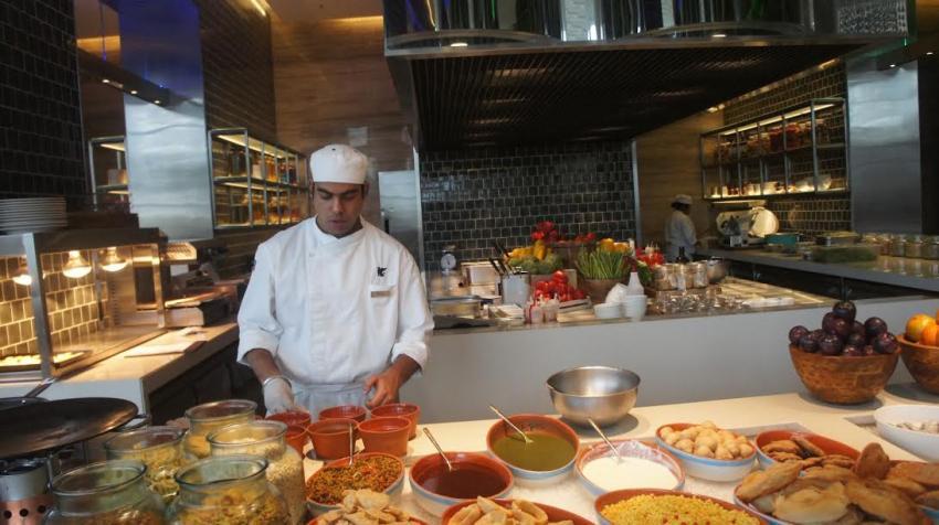JW Marriott Kitchen in Kolkata offers international fare