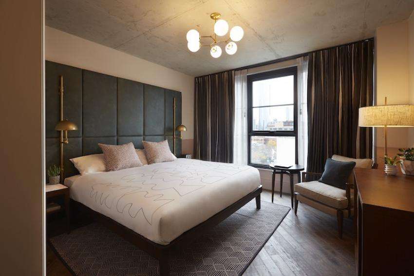 Chicago's newest hotel The Hoxton is inspired by its neighbourhood's industrial past