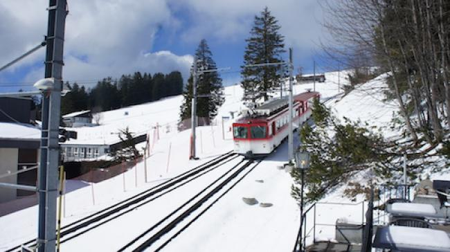 Mount Rigi: Swiss Alps on Cogwheel Railway