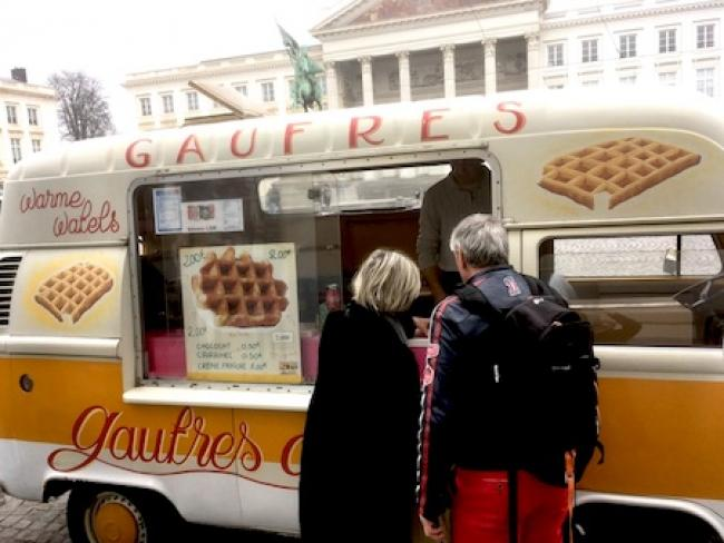 Brussels of Art Nouveau and Waffles